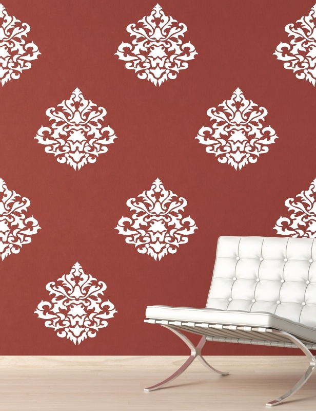 Damask Vintage Wall Decals Part 73