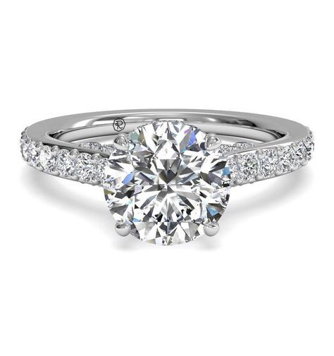 diamond setting diamond band engagement ringsengagement - Wedding Rings Diamond
