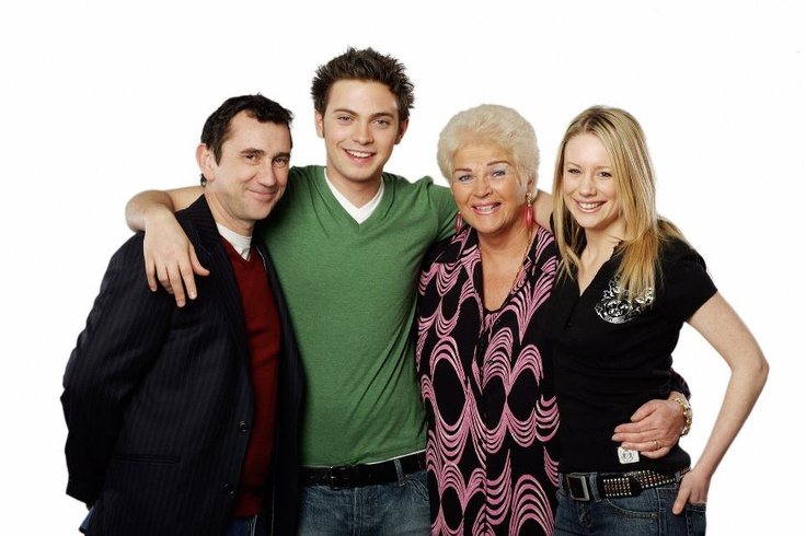 Kevin Wicks, Deano Wicks Pat Harris Butcher Evans and Carly Wicks.  Played by Phil Daniels, Matt Di Angelo, Pam St Clement and Kellie Shirley.