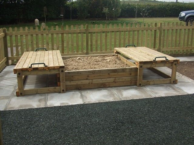 Backyard Sandbox Ideas 2 photos of the backyard sandbox ideas Sand Pit With Sliding Lids From Playquest Adventure Play Sandpit Ideasbackyard