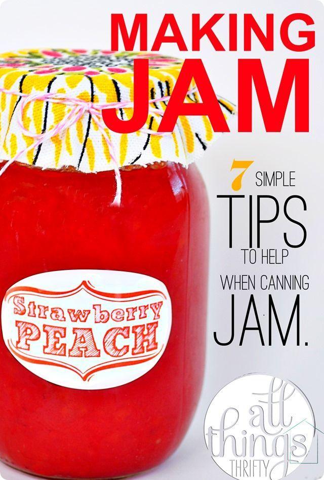 Best 25 peach jam recipes ideas on pinterest peach vanilla jam canning peach recipes and - Advice making jam preserving better ...