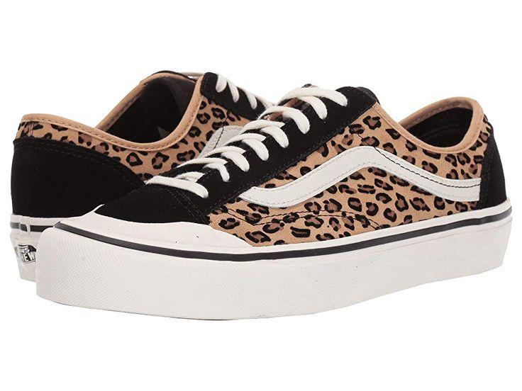 Vans Style 36 Decon SF Shoes (Mini Leopard) Suede