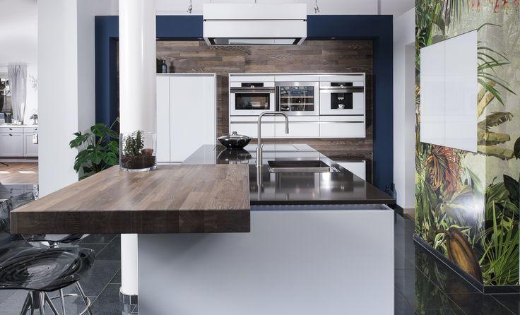 37 beste afbeeldingen over Lebenstraum Küche küchen op Pinterest - weiße küche arbeitsplatte