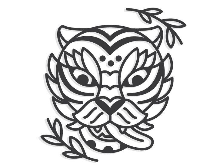 Traditional Korean Tiger