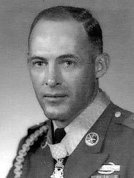 Valor awards for CSM (then SSG) Delbert Owen Jennings (1936-2003) US Army. Medal of Honor for conspicuous gallantry and intrepidity at the risk of his life above and beyond the call of duty, in action against enemy aggressor forces at Kim Song Valley, Republic of Vietnam, on 27 December 1966. Staff Sergeant Jennings' extraordinary heroism and inspirational leadership saved the lives of many of his comrades and contributed greatly to the defeat of a superior enemy force.