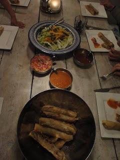 Kook je vegetarisch met mij mee?: Vietnamese loempia's met oosterse koolsalade