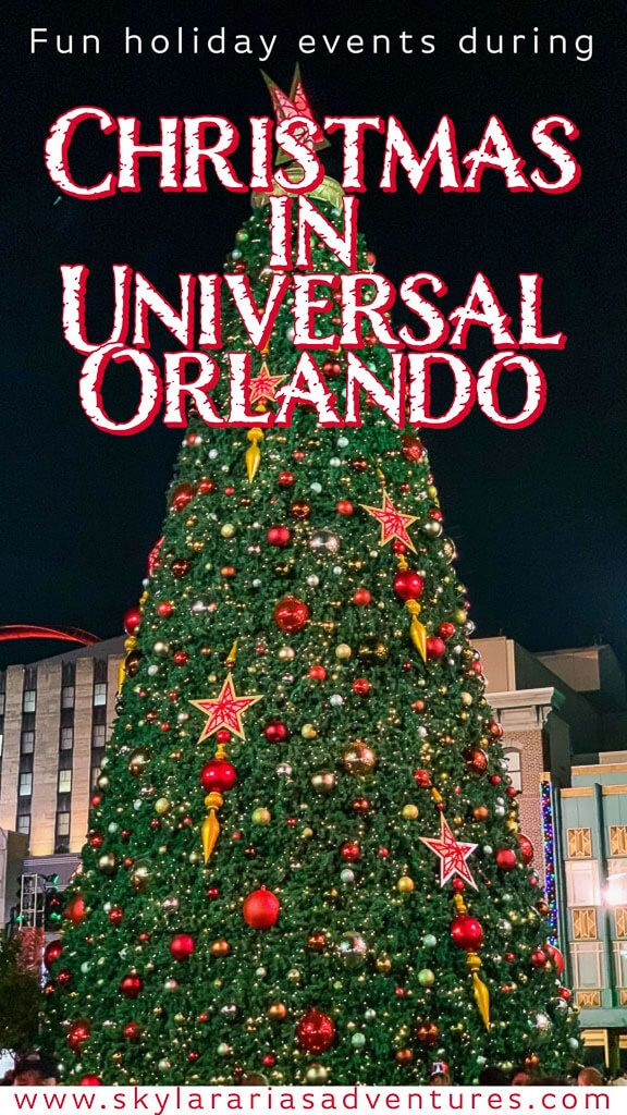 Fun Holiday Events At Universal Orlando Skylar Aria S Adventures In 2020 Holidays And Events Holiday Fun Holiday