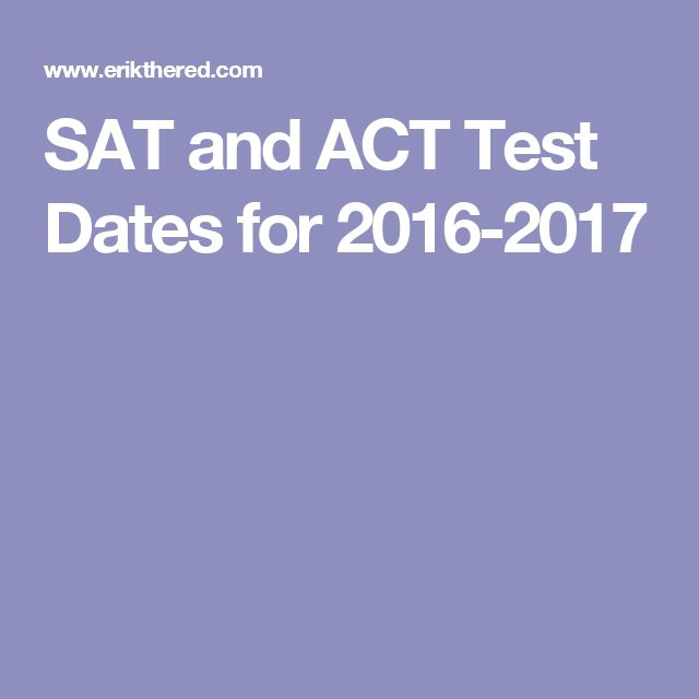 Act test date in Sydney