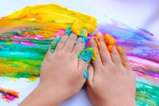 8 recetas para hacer pintura en casa - Blog de BabyCenter