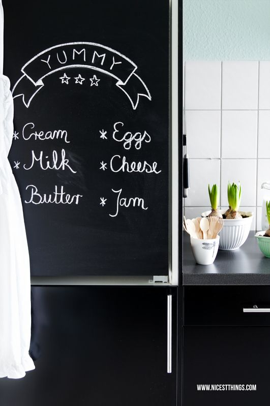 1000 Ideas About Chalkboard Fridge On Pinterest Paint