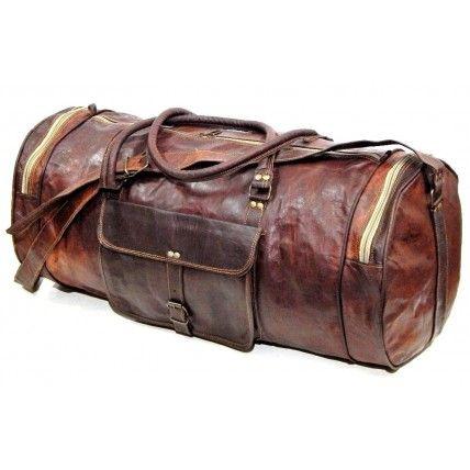 #042 'SHIBAR' ™ Reisetasche Vintage Leder Duffel Handgemachte