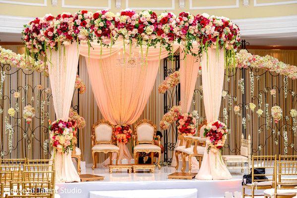 Indian wedding ceremony stage ideas