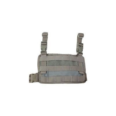 High Speed Gear 20MDL1OD Padded Drop Leg Panel MOLLE Webbing Olive Drab