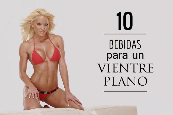 Si quieres saber como tener un abdomen plano es necesario que conozcas estas 10 deliciosas y simples bebidas que tenemos para ti..