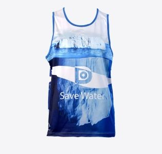 Sublimation Printed Running Vest