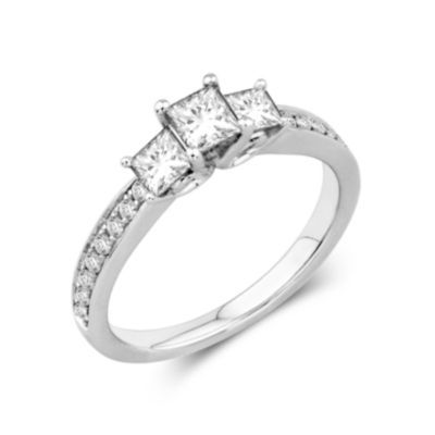 Trendy jcpenney nicole by Nicole Miller CT T W Princess Cut Diamond Ring