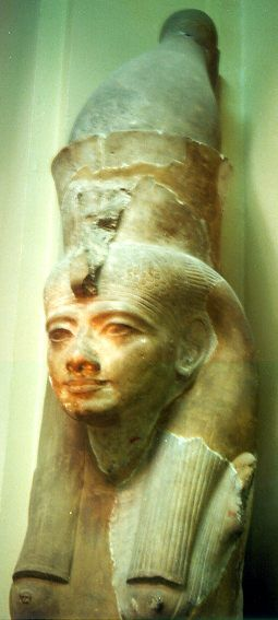 Hatshepsut (1473-1458 B.C.) was the daughter of Tuthmosis I, and carried the blood of Ahmose who, two generations earlier had finally freed Egypt from Hyksos rule.
