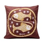 Cushion / Pillow Cover,The Bombay Store,Cushion Cover - Pisces  (Set of 1pc)