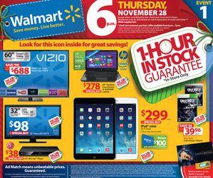 Walmart 2013 Black Friday Deals