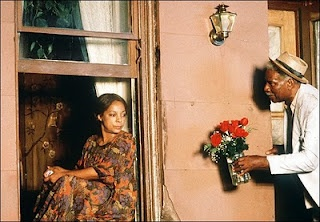 "Ossie Davis & Ruby Dee in a scene from ""Do The Right Thing"" (1989)"