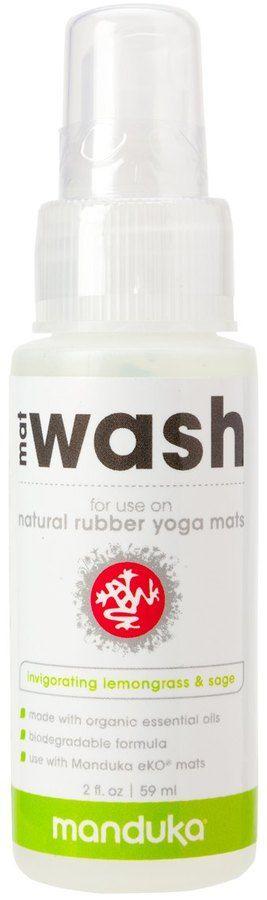 Manduka Natural Yoga Mat Cleaner Travel Spray - 8120400