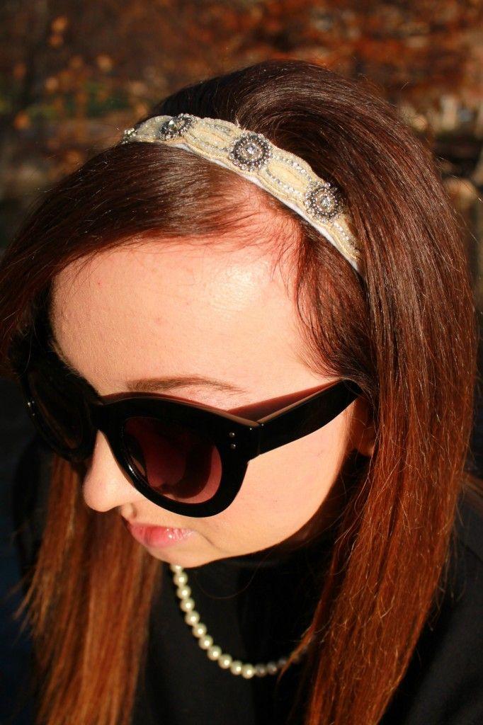 Pearl Headband #CollegeFashionista @cfashionista