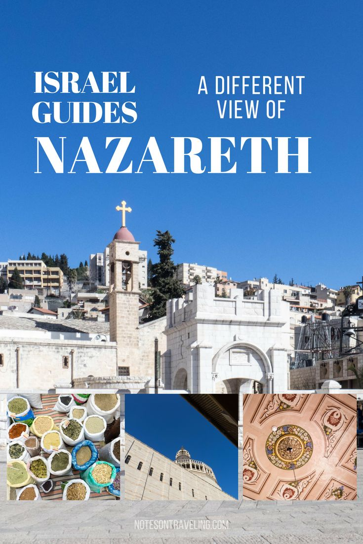 I got to know Nazareth, Israel, beyond Mary & Jesus with a free walking tour offered by the Fauzi Azar. Incl. practical info on transport/accommodation.