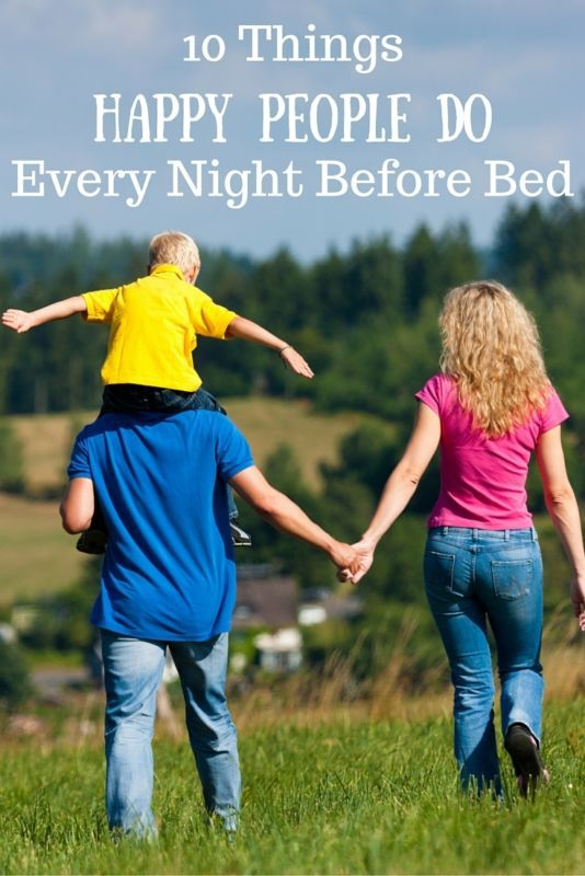 Take some pointers from happy people so you can improve your own quality of life. Follow their bedtime routine and stick to their rules and you'll be a happier person in the morning! Use an automatic electronics timer to limit your technology use before bed; the blue light from your devices keeps your brain awake. Count your blessings each night using a memory board. Create a light yoga workout, taking deep breaths to relieve stress. Visit eBay for 10 things happy people do nightly before…