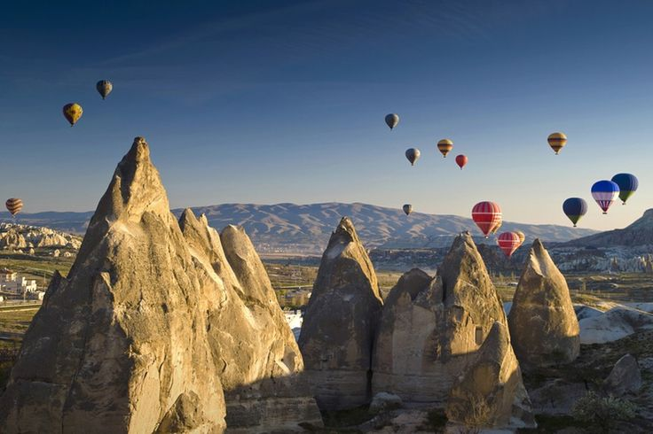 Göreme National Park, Kappadokien, Tyrkiet
