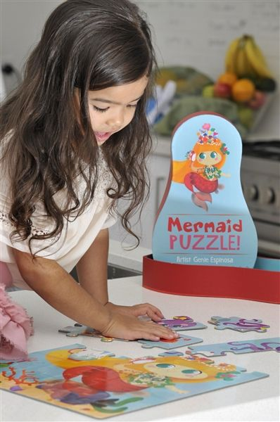 Mermaid Ppeople Puzzle - Glottogon