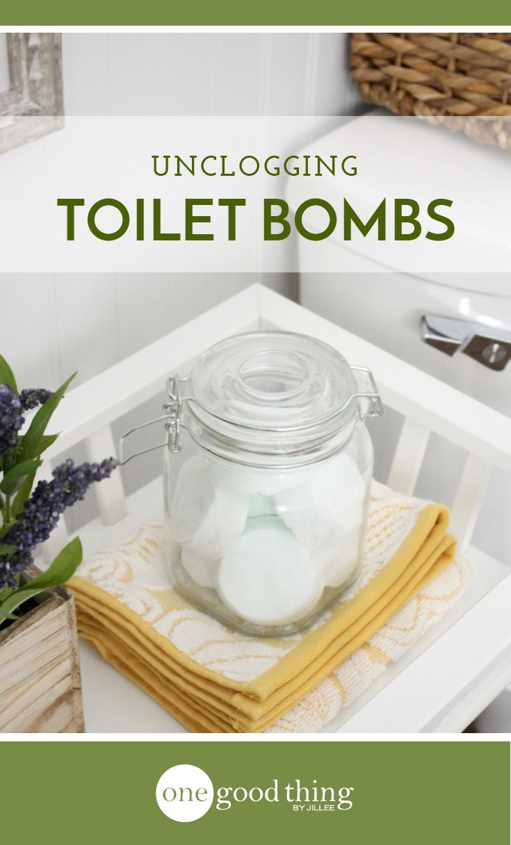Everyone deals with a clogged toilet every now and then! These homemade toilet bombs make it easy to clear out clogs effortlessly.