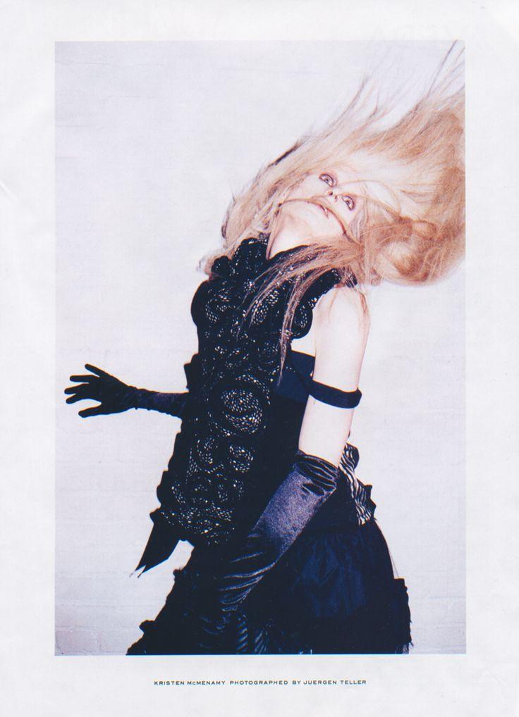 Kristen McMenamy by Juergen Teller for Marc Jacobs, Fall ...