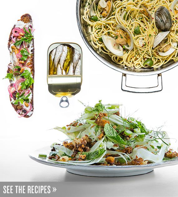 """Feast of the Seven Fishes Seafood Menu and Recipes - """"My family has celebrated Christmas Eve with seven courses of seafood for..."""" : Tasting Table #ChristmasEve #Italian"""
