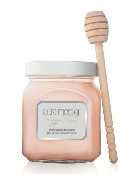 Laura Mercier Ambre Vanille Honey Bath DetailsDiscover a new twist on luxury with Laura Mercier's Honey Bath. Twirl the Ambre Vanille emulsion into your bath and watch it transform into a decadent foa