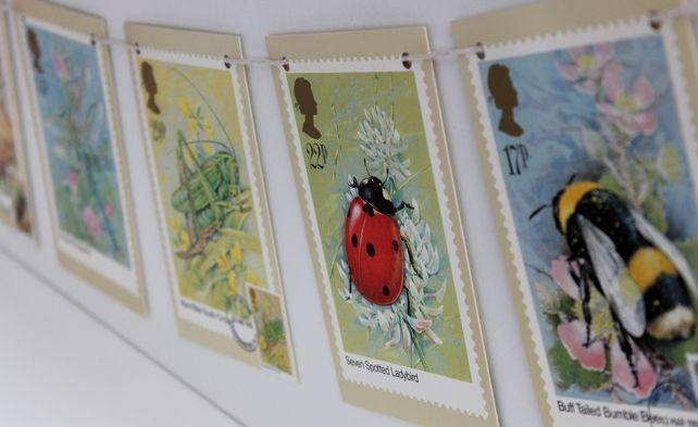 British Wildlife Stamps Bunting £10.00