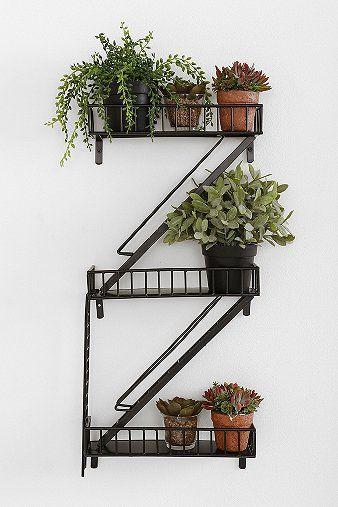 Urban Outfitters; Fire Escape Wall Shelf