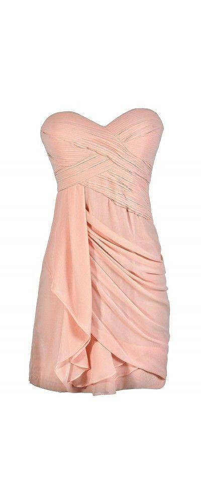 17  ideas about Light Pink Dresses on Pinterest  Pink dresses ...