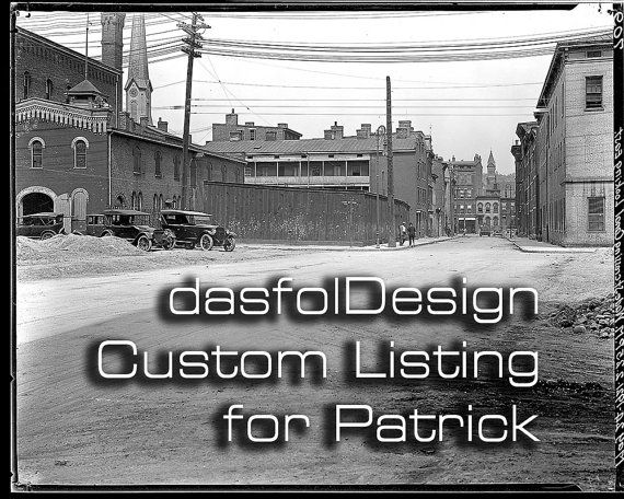 Custom Order for Patrick - Restoration of Faded Old Photos