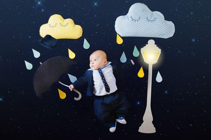 singing in the rain, baby, bebê, four months, quatro meses, dançando na chuva, cantando na chuva, livfoto