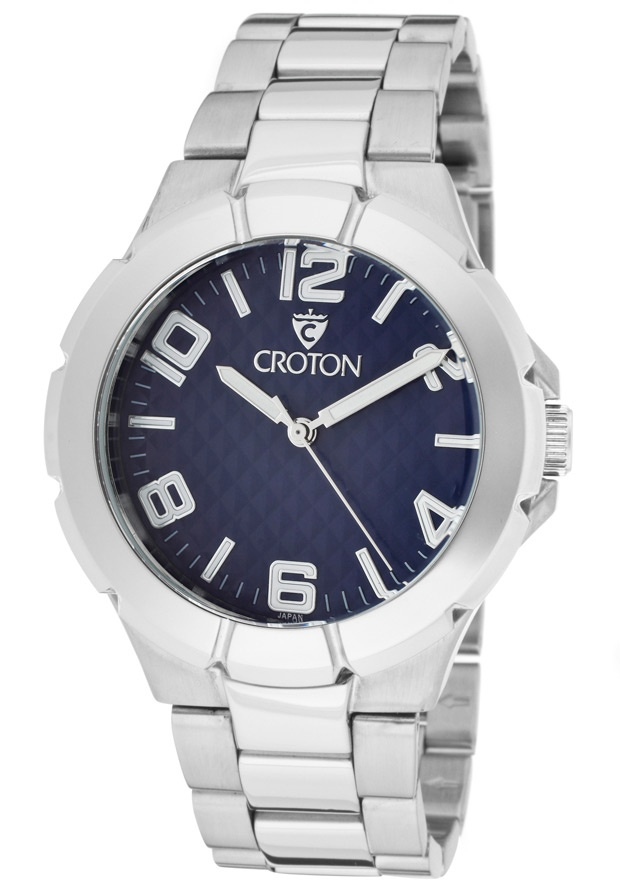 Price:$63.75 #watches Croton CN207382RHBL, With a royal appeal, this Croton timepiece has a regal design and adds a refined look to your wardrobe.