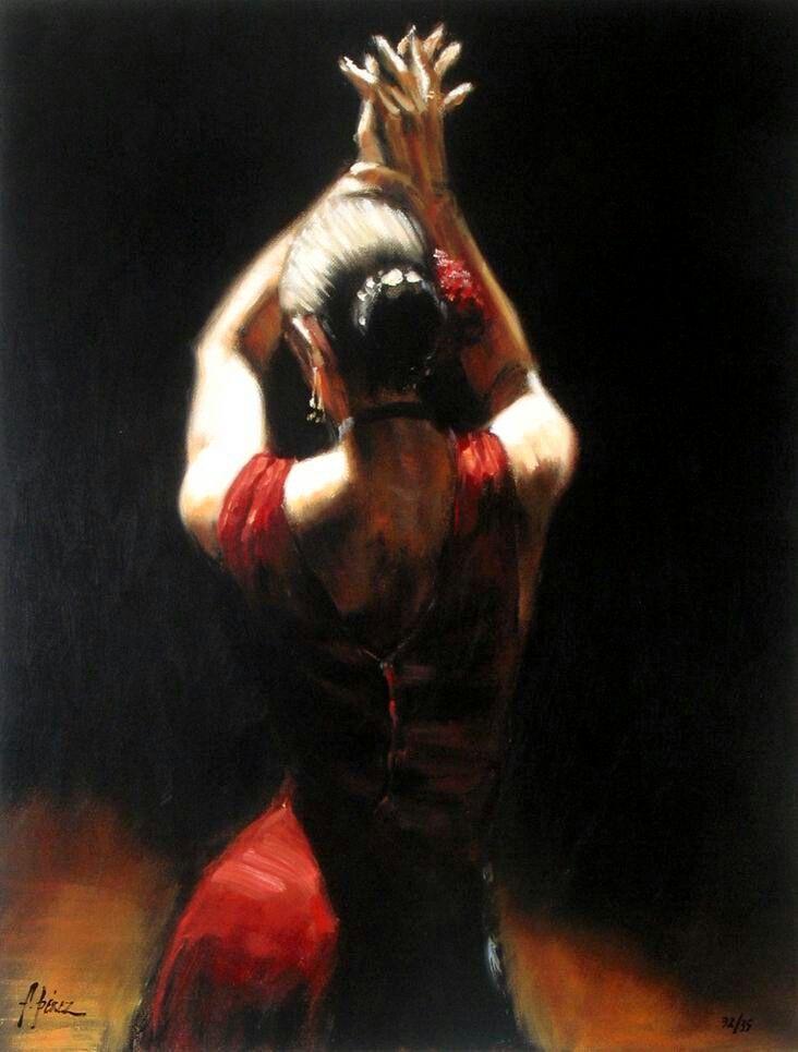 Elegancia flamenca