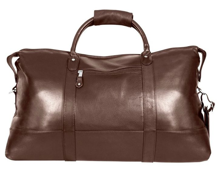Have bag - will travel! This gorgeous bag is legal carry-on size and made with full grain cowhide, giving it a soft buttery feel. It will stand the test of time with its complete leather bottom. The 4