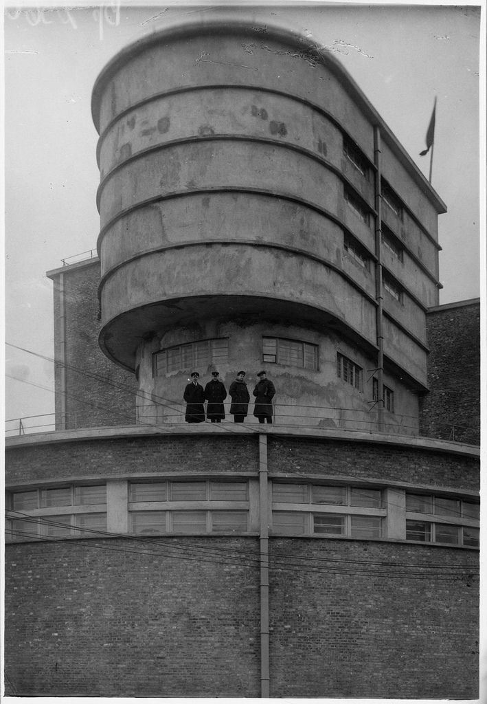 Erich Mendelsohn | Red Banner Textile Factory | Leningrad (1926)