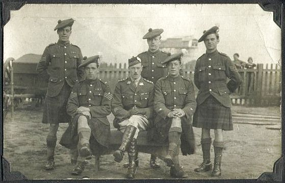The Scottish soldiers who fought in WWI do so in kilts. These men were able to hold everything they needed and were sticking with their traditional form of dress.
