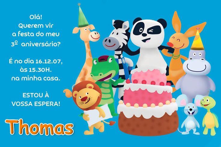 Convite digital personalizado Canal Panda 008