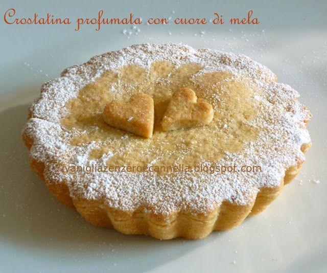 Vaniglia, Zenzero e Cannella: Crostatina profumata con cuore di mela