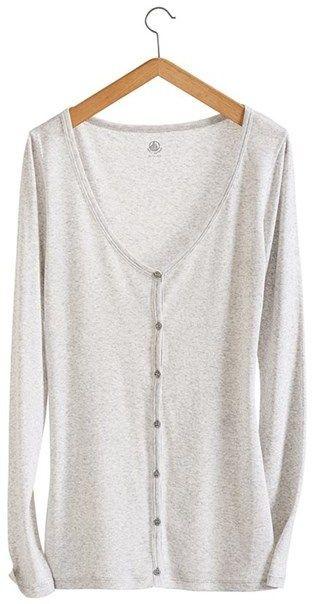 Womens light cotton cardigan