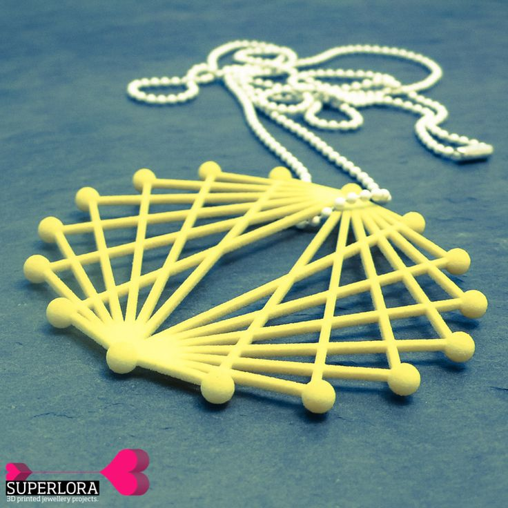 3D printed jewellery by SUPERLORA #SS2015