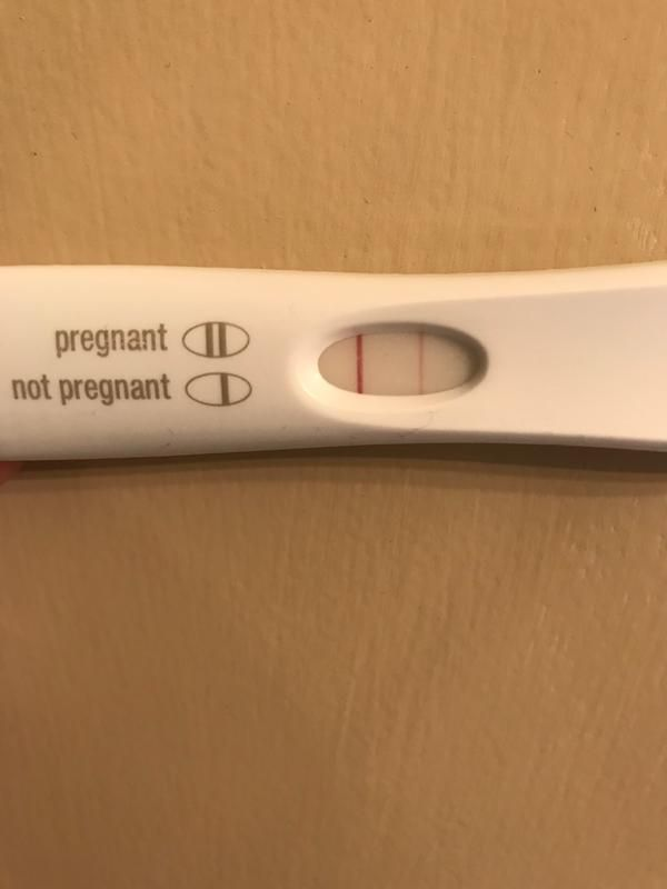 positive pregnancy test images first response