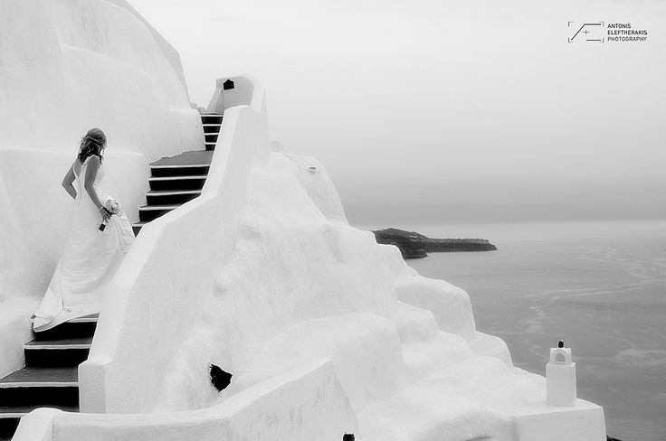 Very Nice in Black and White!!! Wedding Photography By @absst  #photographer #photography #weddingphotography #weddingphotographer #santorini #greece #destinationweddings #weddingsinsantorini #destinationweddings